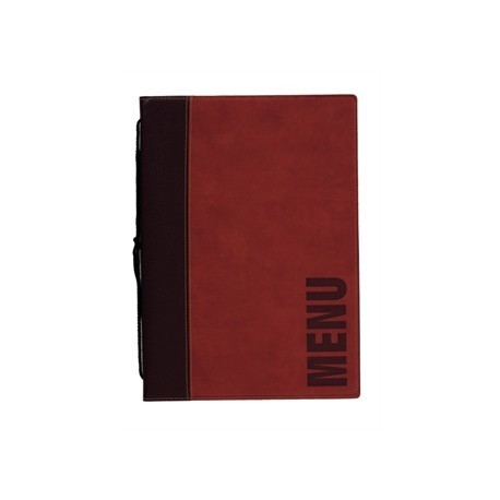 Securit Contemporary Menu Holder A5 Red