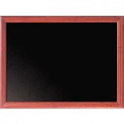 Securit Mohogany Effect Blackboard 60 x 80cm