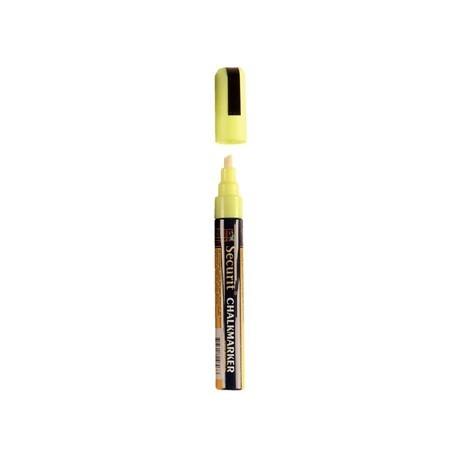 Chalkboard Yellow Marker Pen 6mm Line