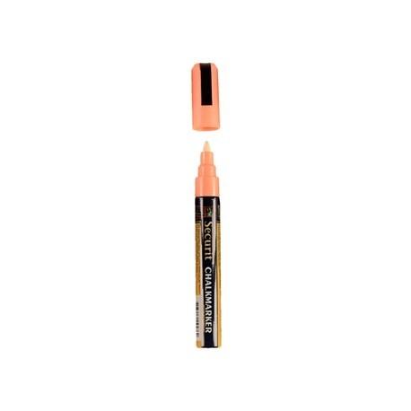 Chalkboard Orange Marker Pen 6mm Line