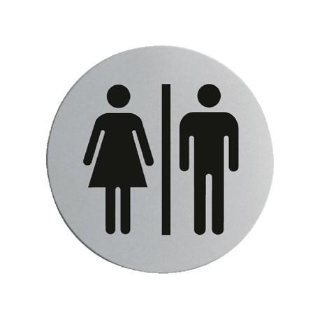 Stainless Steel Door Sign - Ladies & Gentlemen