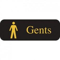 Gents Symbol Sign