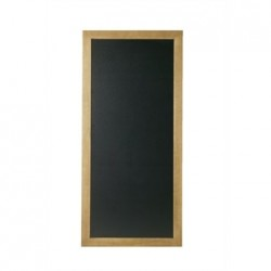 Securit Rectangle Blackboard Teak 56 x 100cm