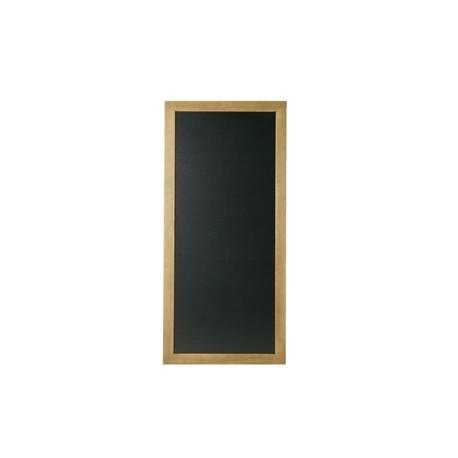 Securit Rectangle Blackboard Teak 56 x 100cm