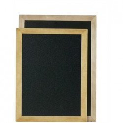 Securit Rectangle Blackboard Teak 60 x 80cm