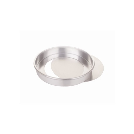 Aluminium Sandwich Tin With Removable Base 23cm