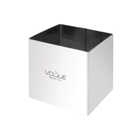 Vogue Square Mousse Rings 6x6cm Extra Deep