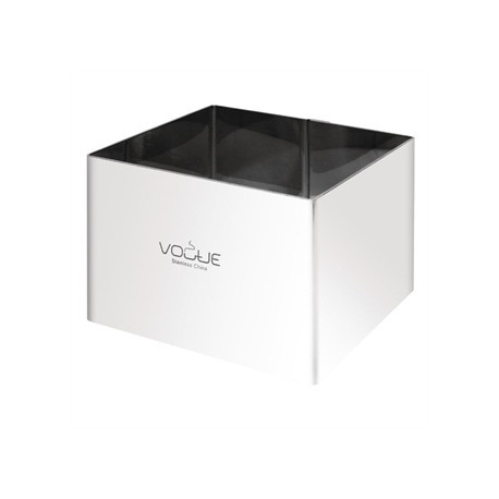 Vogue Square Mousse Rings 8x8cm Extra Deep