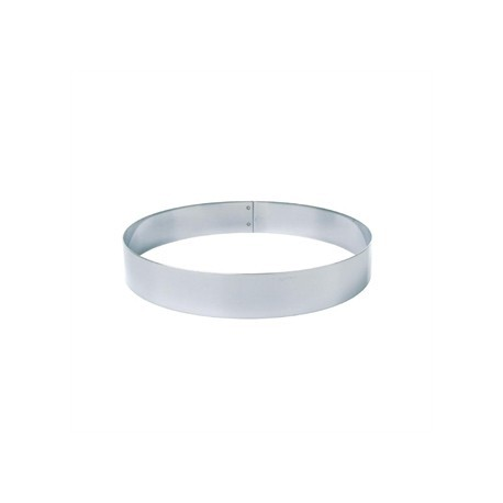Matfer Stainless Steel Mousse Ring 16cm