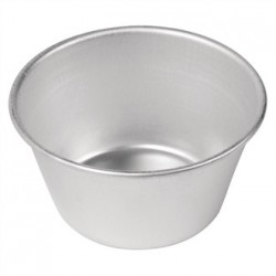 Vogue Aluminium Pudding Basin 340ml