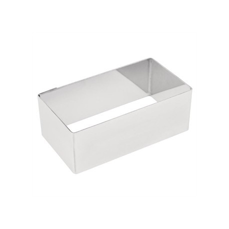 Rectangular Mini Gateaux Mould 8x4cm