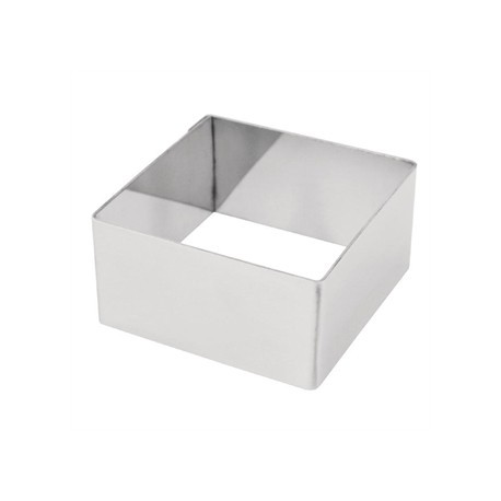 Square Mini Gateaux Mould 6x6cm
