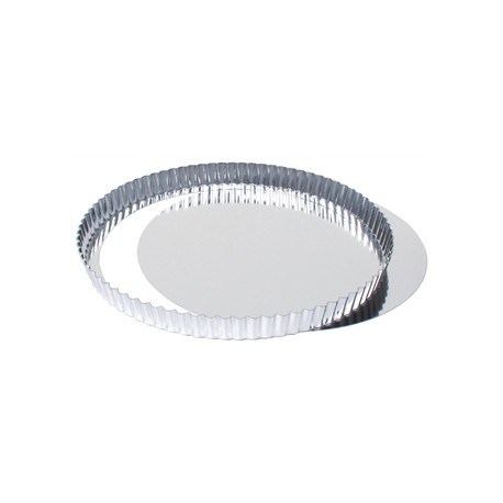 Fluted Quiche Tin With Removable Base 28cm