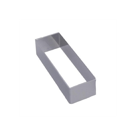De Buyer Stainless Steel Rectangular Ring 124 x 43 x 30mm