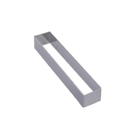 De Buyer Stainless Steel Rectangular Ring 124 x 43 x 40mm