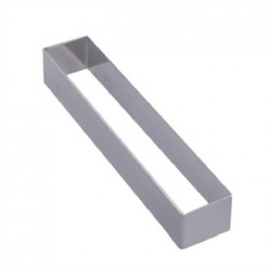 De Buyer Stainless Steel Rectangular Ring 180 x 30 x 20mm