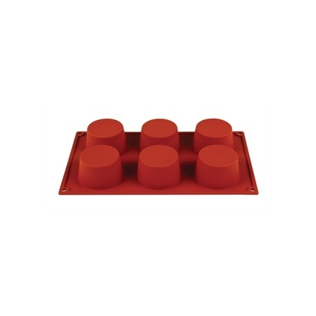 Formaflex Silicone 6 Muffin Mould