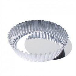 Matfer Deep Fluted Quiche Tin With Removable Base 20cm