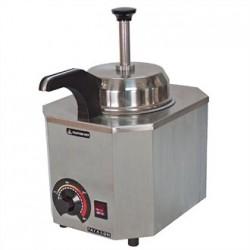 JM Posner Hot Sauce Dispenser with Heated Nozzle 0.9Ltr