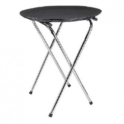 Kristallon Chrome Folding Tray Stand 28.5 in