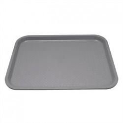 Kristallon Plastic Tray Small Grey