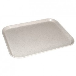 Kristallon Fibreglass Tray Light Grannite 14 x 18 in