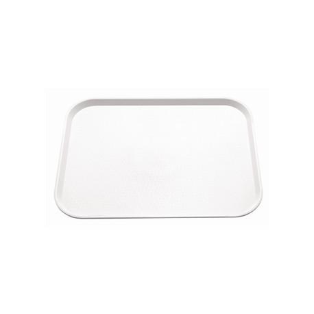 Kristallon Plastic Foodservice Tray Medium in White
