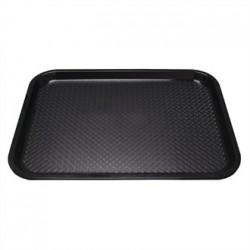 Kristallon Plastic Foodservice Tray Medium in Black