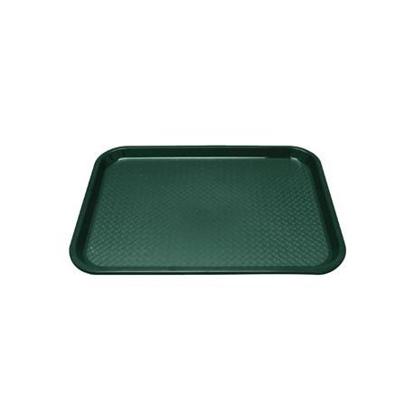 Kristallon Plastic Foodservice Tray Medium in Green