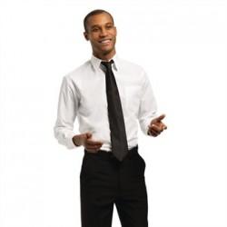 Uniform Works Unisex Long Sleeve Shirt White M