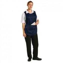 Tabard With Pocket Navy Blue Small