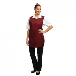 Tabard With Pocket Burgundy Small