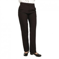 Ladies Black Waiting Trousers Size 10