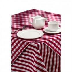 Palmar Gingham Red & White Slipcloth