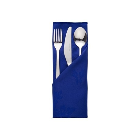 Roslin Woven Rose Royal Blue Napkin