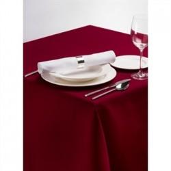 Palmar Polyester Burgundy Tablecloth