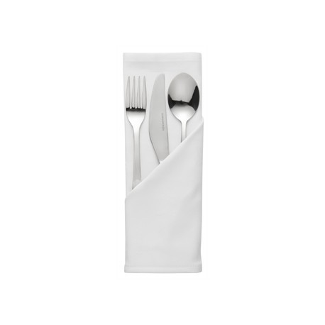 Plain White Polycotton Napkins
