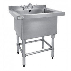 Vogue Stainless Steel Deep Pot Wash Sink