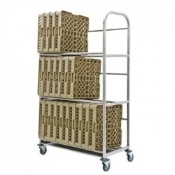 Craven Drip Dry Trolley with Tray