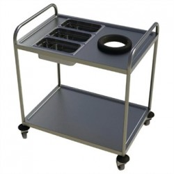 Craven 2 Tier Clearing Trolley