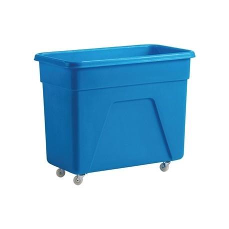 Blue Polyethylene Trolley Medium