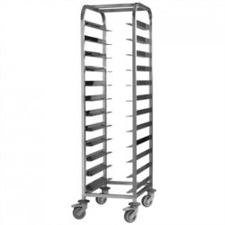 EAIS Stainless Steel Clearing Trolley 12 Shelves