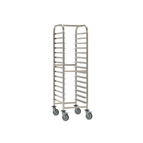 EAIS Stainless Steel Trolley 15 Shelves