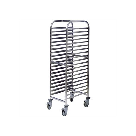 EAIS Stainless Steel Trolley 20 Shelves