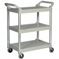 Rubbermaid Compact Utility Trolley White