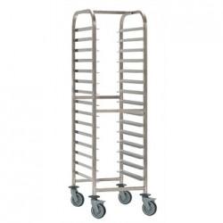 Bourgeat Patisserie Racking Trolley 20 Shelves