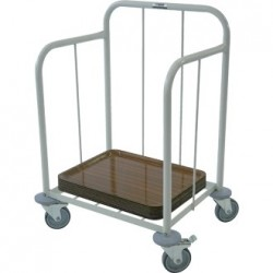 Craven Steel Tray Stacking Trolley