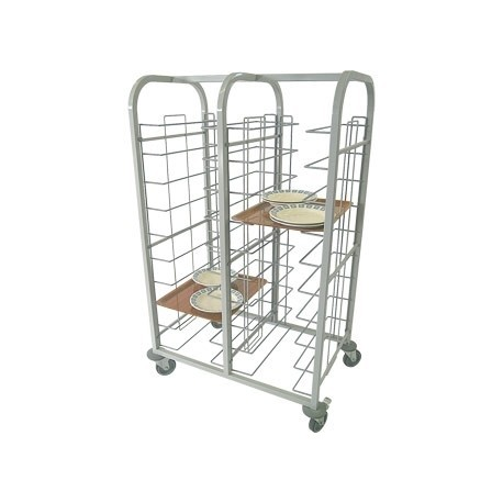 Craven Steel Self Clearing Trolley Double