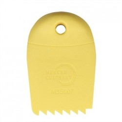 Mercer Culinary Saw Tooth Silicone Plating Wedge