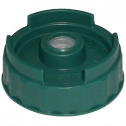 Small Valve Bottom Dispensing Cap For FIFO Bottles